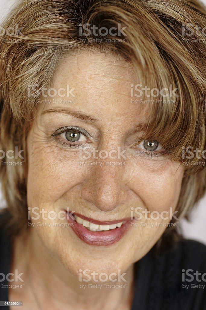 Beautiful senior woman royalty-free stock photo