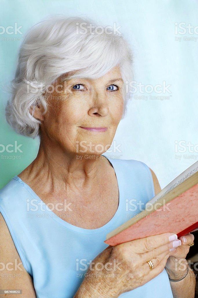 아름다운 여자 노인 royalty-free 스톡 사진