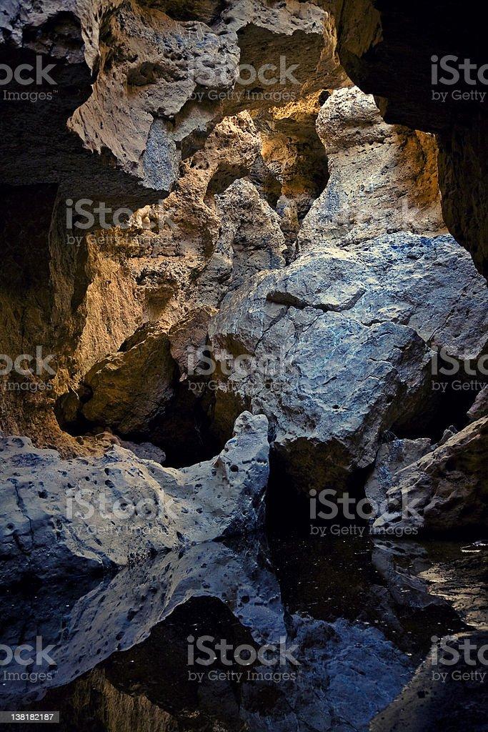 Beautiful Sesriem Cave royalty-free stock photo