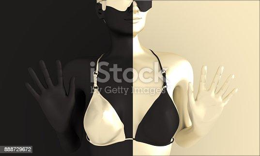 istock Beautiful sexy fitness girl. 888729672