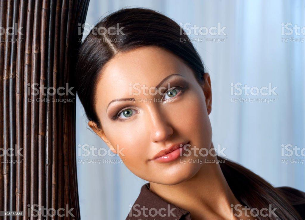 beautiful sexy girl stock photo