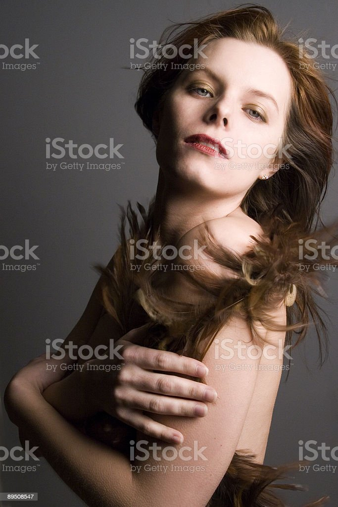 Beautiful sexy woman royalty-free stock photo