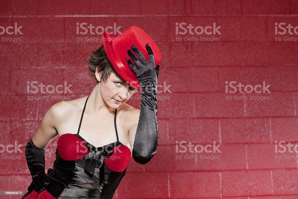 Beautiful Sexy Woman Series stock photo