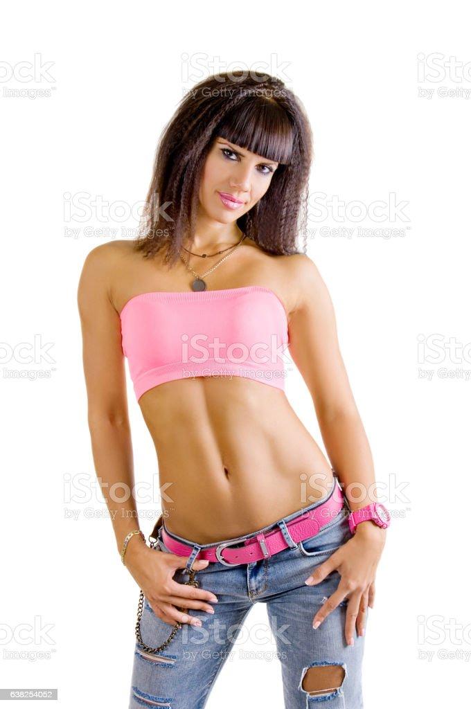 sexy slender white girl butts