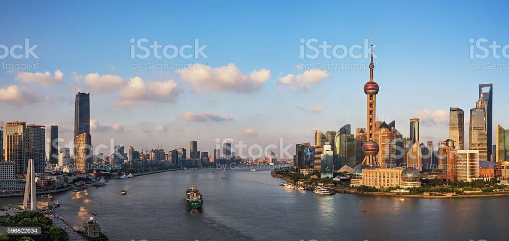 Beautiful Shanghai Bund, stock photo