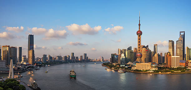 Beautiful Shanghai Bund, Beautiful Shanghai Bund, huangpu river stock pictures, royalty-free photos & images
