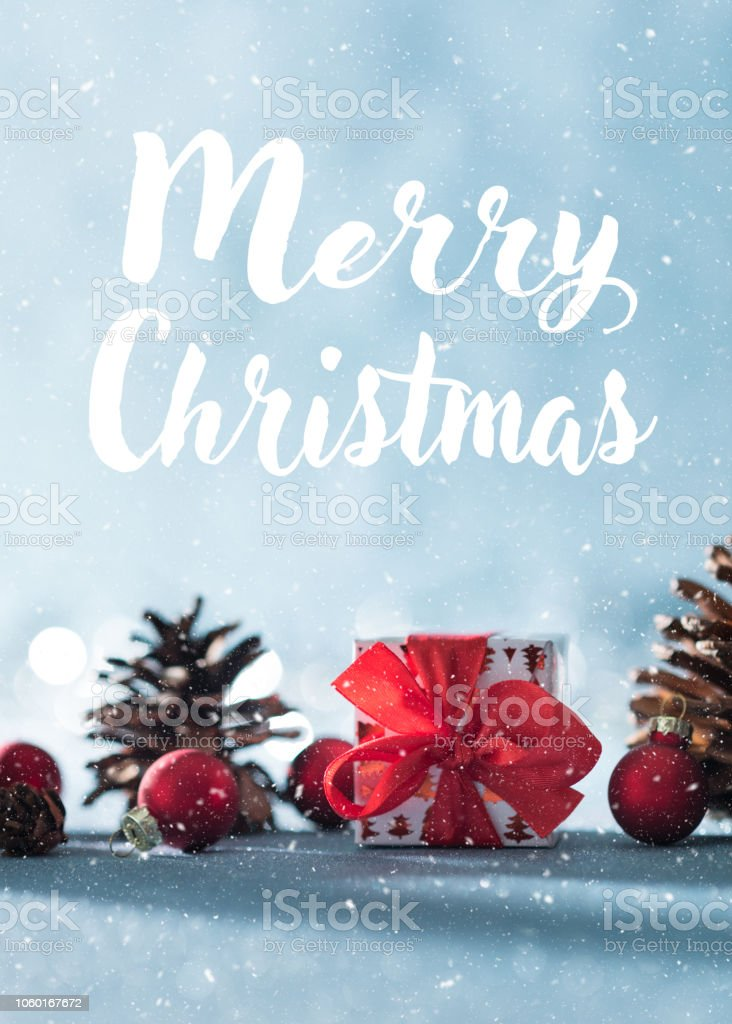 Weihnachtsbeleuchtung Tannenzapfen.Schöne Einfache Weihnachten Hintergrund Mit Textfreiraum Niedliche