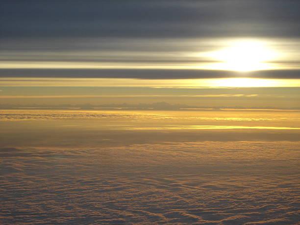 beautiful sky above clouds - fsachs78 stockfoto's en -beelden