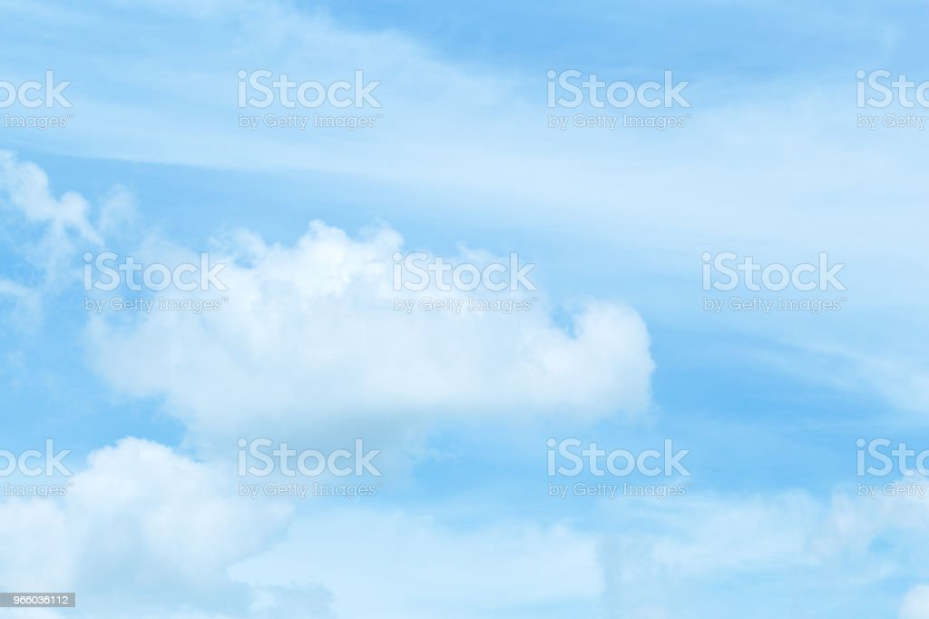 Beautiful sky and floating clouds - Royalty-free Above Stock Photo
