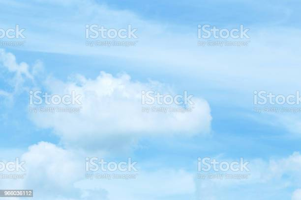 Beautiful Sky And Floating Clouds Stock Photo - Download Image Now