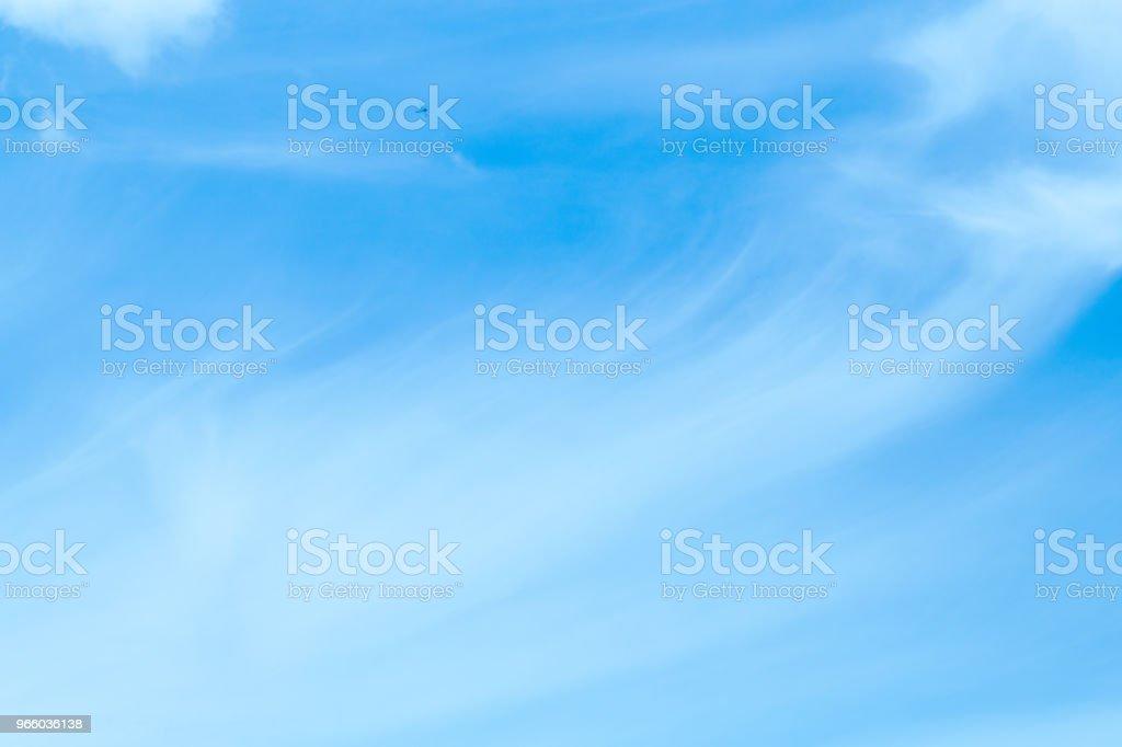 Mooie hemel en zwevende wolken - Royalty-free Achtergrond - Thema Stockfoto