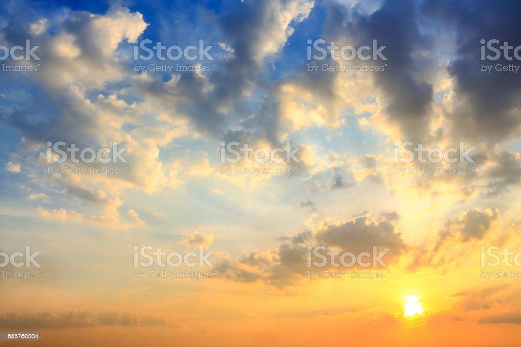Beautiful sky atmosphere. royalty free stockfoto