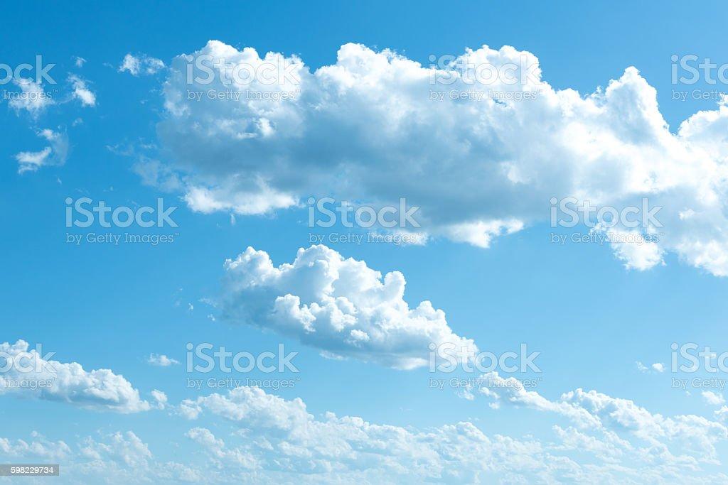 ฺBeautiful sky clouds for background foto royalty-free
