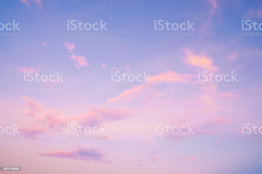 beautiful sky landscape at sunset royalty-free stock photo