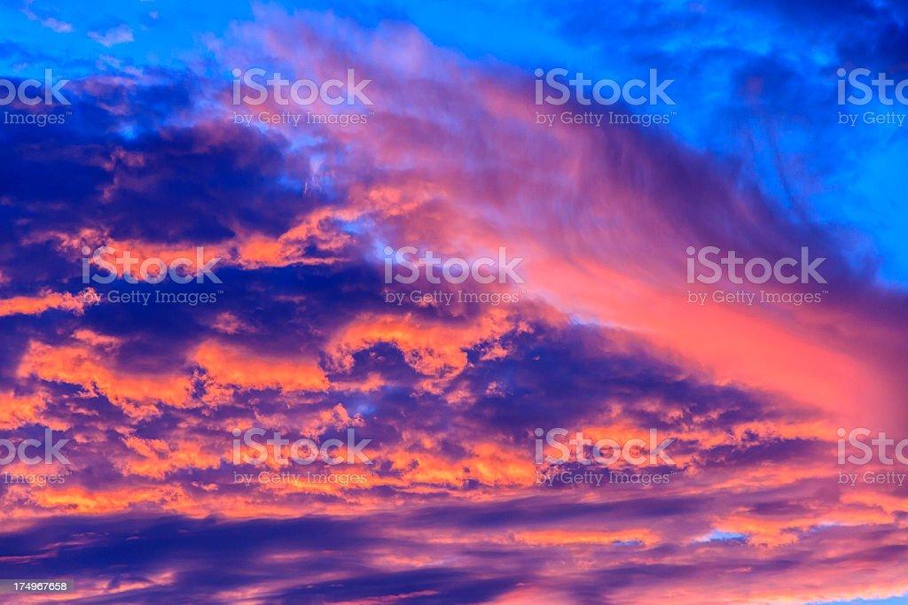 Beautiful Sky royalty-free stock photo