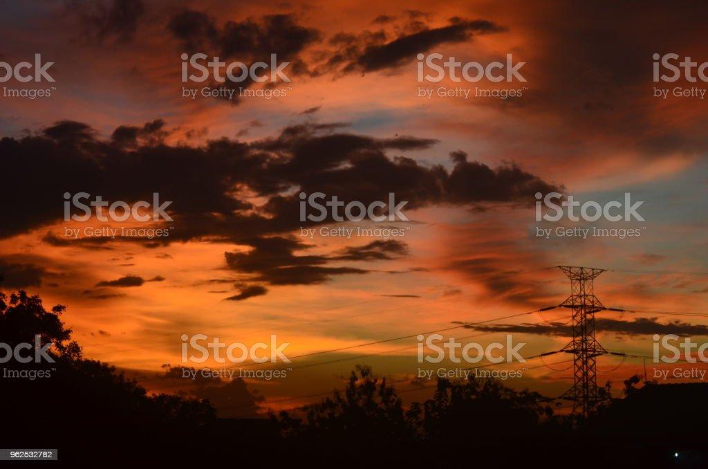 Belo céu - Foto de stock de Céu - Fenômeno natural royalty-free