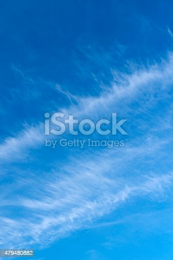 istock Beautiful sky with white cloud.  Background 479480882
