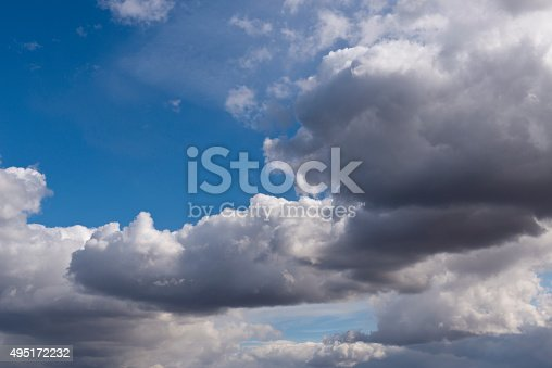 517897328istockphoto Beautiful sky with white cloud.  Background 495172232
