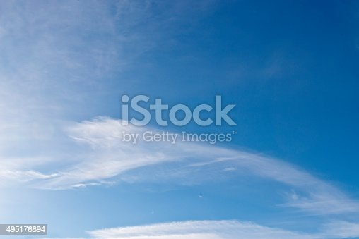 517897328istockphoto Beautiful sky with white cloud.  Background 495176894