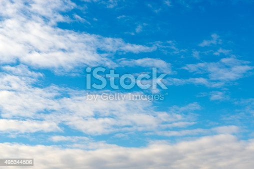 517897328istockphoto Beautiful sky with white cloud.  Background 495344506