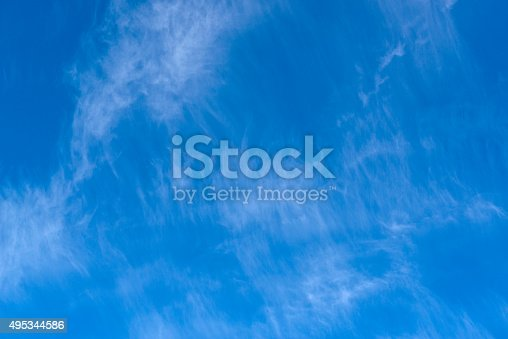 517897328istockphoto Beautiful sky with white cloud.  Background 495344586