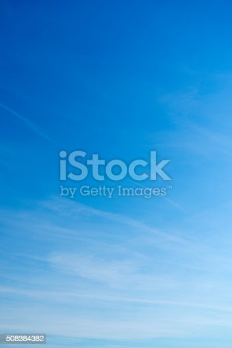 istock Beautiful sky with white cloud.  Background 508384382