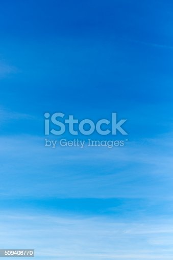istock Beautiful sky with white cloud.  Background 509406770
