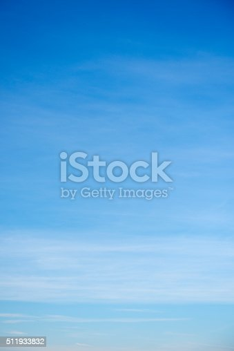 istock Beautiful sky with white cloud.  Background 511933832