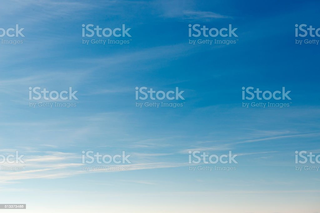 Beautiful sky with white cloud.  Background stok fotoğrafı