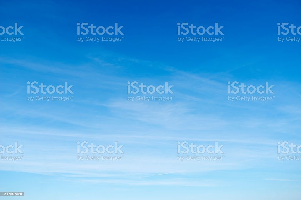 Beautiful sky with white cloud.  Background