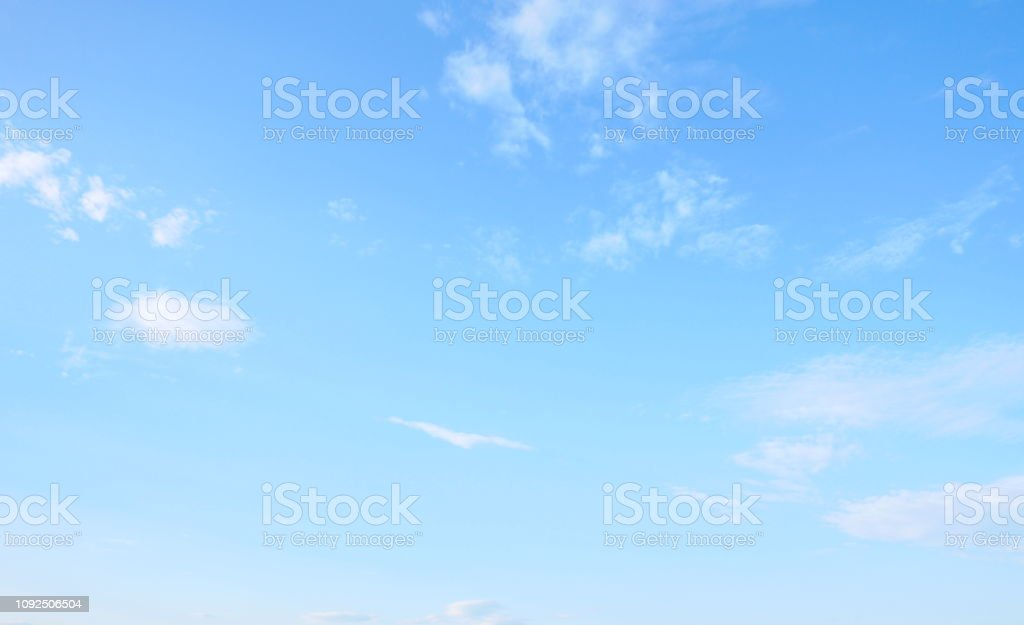 Beautiful sky with white cloud foto stock royalty-free