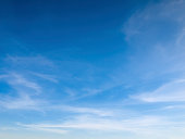 istock Beautiful sky with white clouds 182412483
