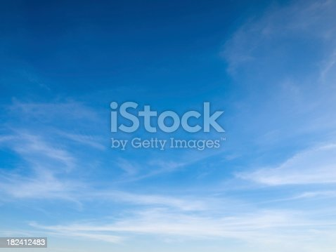 beauty peaceful sky with white clouds great as background
