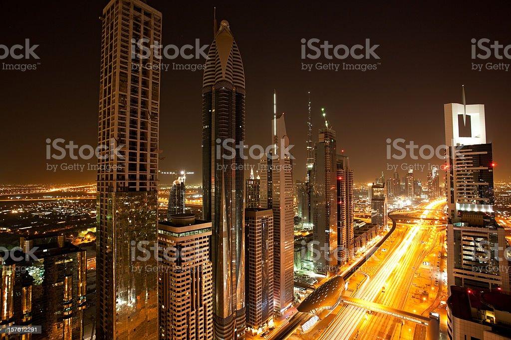 beautiful skyline royalty-free stock photo