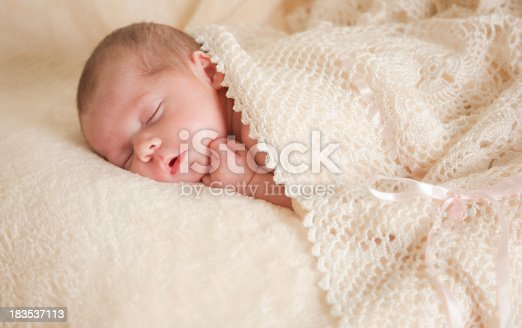 Beautiful little newborn girl sleeping so sweetly.For similar and newly added images please visit my Sweet Dreams Lightbox. Click here: