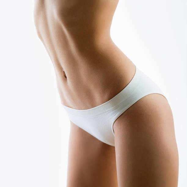 Cтоковое фото Beautiful slim body of a woman