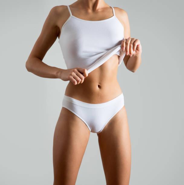 Cтоковое фото Beautiful slim body