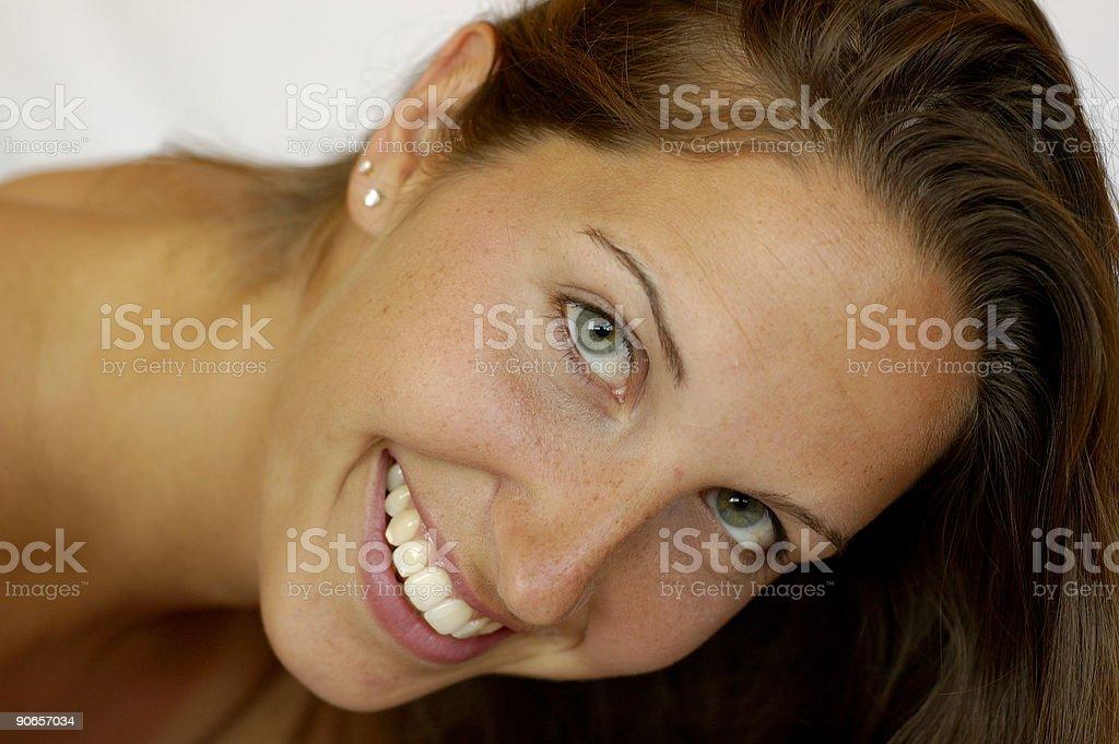 Beautiful Smile 1 royalty-free stock photo