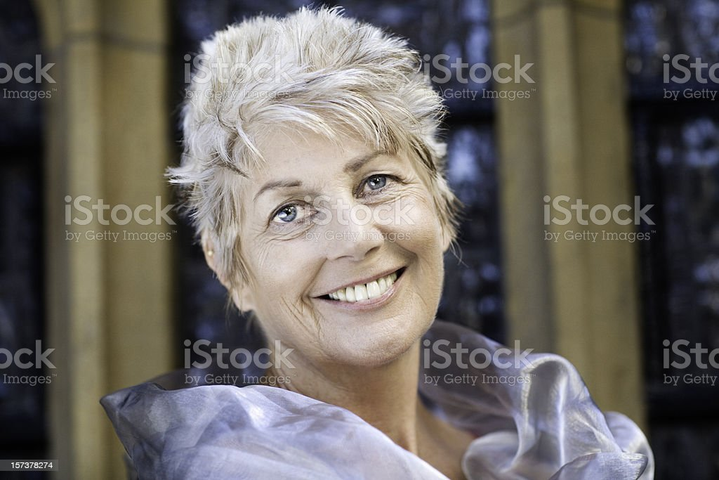 Beautiful smile royalty-free stock photo