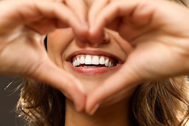 Beautiful smile Beautiful smile teeth stock pictures, royalty-free photos & images