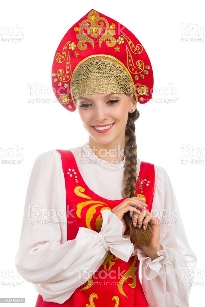 Attraktive russische Mädchen