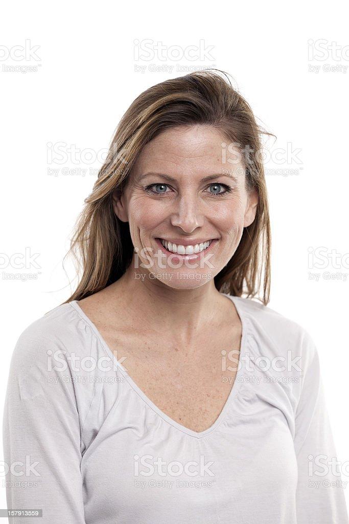Piękny uśmiech kobieta – zdjęcie
