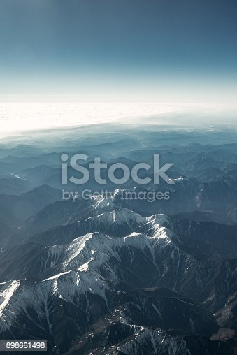 istock Beautiful snowy mountains 898661498
