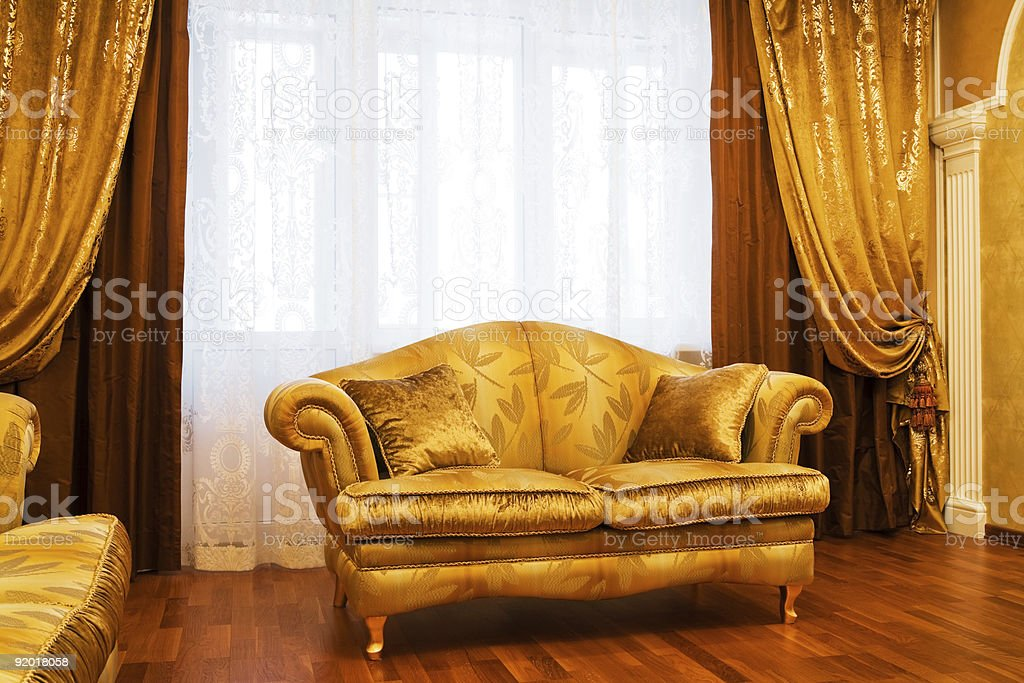 Beautiful sofa royalty-free stock photo