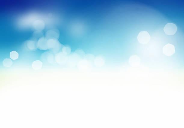 Beau fond abstrait Bleu doux - Photo