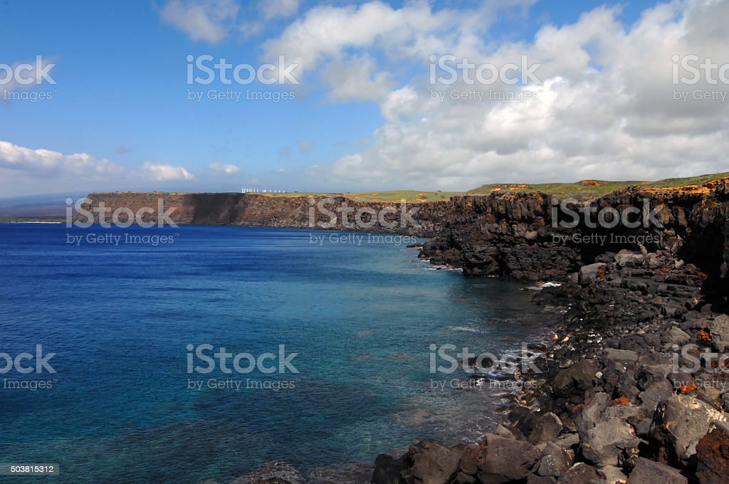 Beautiful South Point stock photo