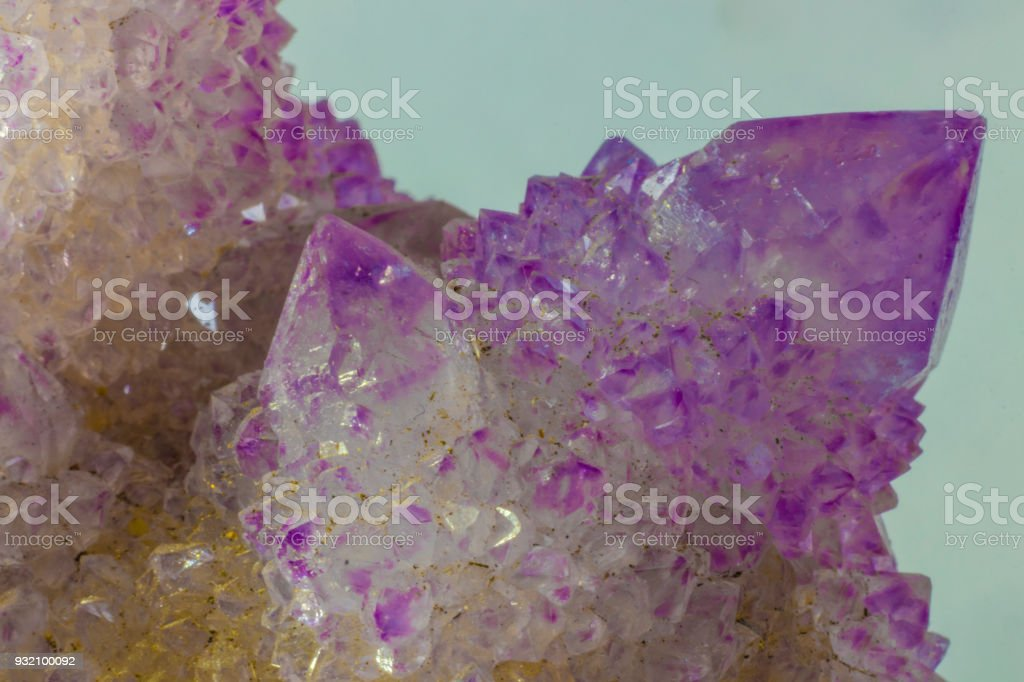 Beautiful Spirit Quartz Speciman stock photo
