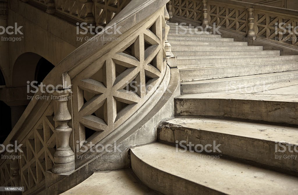beautiful Staircase stock photo
