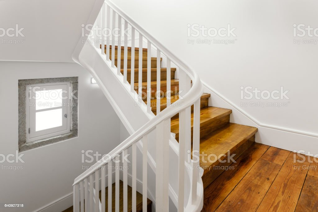 Beautiful Staircase stock photo