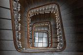 istock Beautiful stairwell in an old Building in Geneva, Switzerland 1315347907